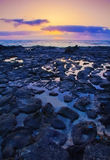 Low tide on the edge of El Cotillo, Fuerteventura Royalty Free Stock Image