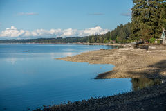 Low Tide On Hood Canal Royalty Free Stock Photo