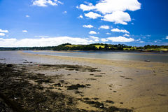 Low Tide at Instow. The low tide in the estuary, Instow Devon Stock Images
