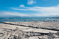 Low tide at Kaikoura, New Zealand Royalty Free Stock Images