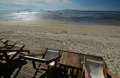 Low tide. Koh Mook. Thailand Royalty Free Stock Photos