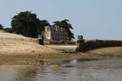 Low Tide Locmariaquer, Brittany, France Stock Photography