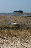 Low Tide Locmariaquer, Brittany, France Royalty Free Stock Images