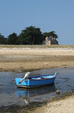 Low Tide Locmariaquer, Brittany, France Stock Image