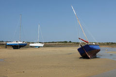 Low Tide Locmariaquer, Brittany, France Royalty Free Stock Photo