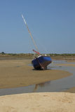 Low Tide Locmariaquer, Brittany, France Royalty Free Stock Image