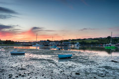 Low Tide at Millbrook Stock Image