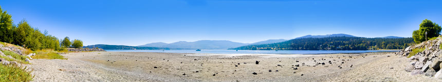 Low Tide Panoramic Stock Photography