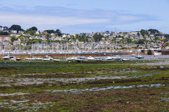Low tide in Perros-Guirec Stock Photo