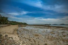 Low tide, Phuket Royalty Free Stock Images