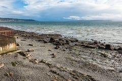 Low Tide Shoreline Stock Image