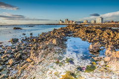 Low tide in Strand Royalty Free Stock Photos