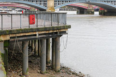 Low tide Thames Stock Photos