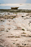 Low Tide. Water retreating during low tide on the island of Nusa Lembongan, Bali, Indonesia Stock Photography