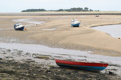 Low tide Royalty Free Stock Photo
