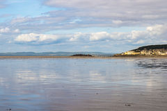 Low tide at Weston-Super-Mare beach Stock Photos