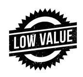 Low Value rubber stamp Royalty Free Stock Photos