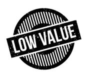 Low Value rubber stamp Royalty Free Stock Photography