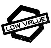 Low Value rubber stamp Stock Photos