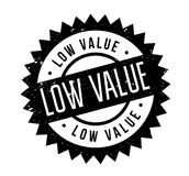 Low Value rubber stamp Stock Photography