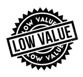 Low Value rubber stamp Stock Photo