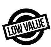 Low Value rubber stamp Stock Images