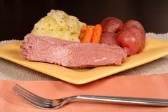 Low view of a  corned beef and Stock Photography