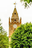 Low view of Milton Malsor Church Northampton UK Royalty Free Stock Image