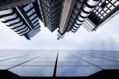 Low view urban buildings Stock Photos