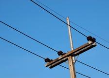 Low voltage pole Stock Image