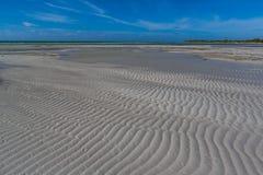 Low water flats of Bahia Honda Bay in Florida Keys Royalty Free Stock Image