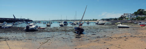 Low water by Gorey Harbour Royalty Free Stock Photography