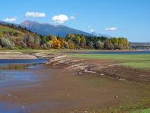 Low water level at Liptovska Mara Stock Photos