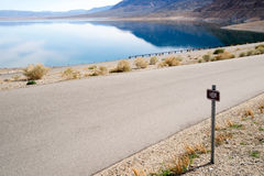 Low Water Level at Walker Lake Royalty Free Stock Images
