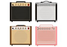 Low watt tube amplifier. Royalty Free Stock Photography