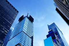 Skyscrapers and Sky Stock Photo