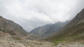 Lowari-Durchlauf-Berg Stockfoto