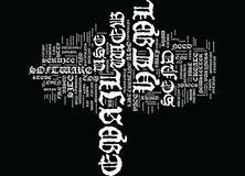 The Lowdown How To Create And Send Html Email Text Background Word Cloud Concept Royalty Free Stock Photo