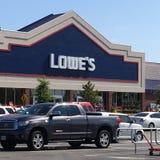 Lowe's Lizenzfreie Stockbilder
