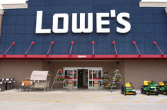 Lowe's cuts store openings Royalty Free Stock Image