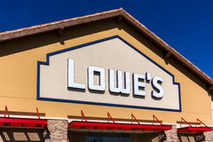 Lowe's Home Improvment Warehouse Exterior. Stock Image