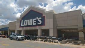 Lowe's-Speicher Stockbild