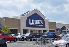 Lowe's-Speicher Lizenzfreie Stockbilder
