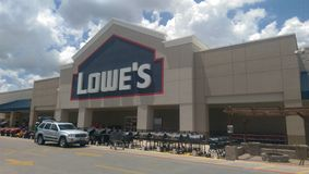 Lowes store Stock Image