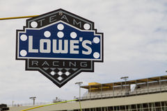 NASCAR sprintar kuper stoppet för den dyrkJohnson gropen Royaltyfria Bilder