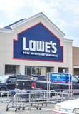 Lowe sklep Zdjęcie Stock