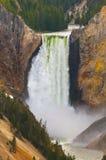 Lowe Yellowstone Falls Royalty Free Stock Image