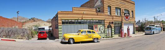 Lowell, Arizona - Geisterstadt - Panorama Lizenzfreie Stockbilder