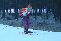 Lowell Bailey - biathlon Royalty-vrije Stock Fotografie