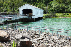 Lowell covered bridges. Stock Photography